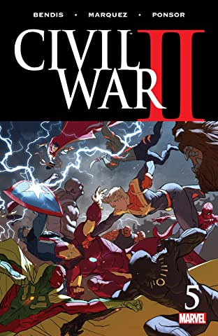 Civil War II (2016-) #5 (of 8)