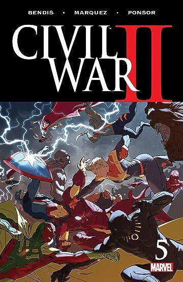 Civil War II (2016) #5 (of 8)