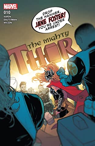 The Mighty Thor (2015-2018) No.10
