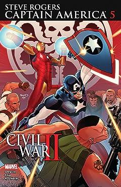 Captain America: Steve Rogers (2016-2017) #5