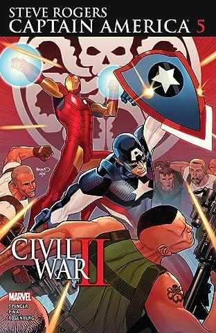 Captain America: Steve Rogers (2016-) #5