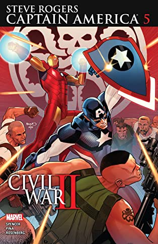 Captain America: Steve Rogers (2016-2017) #5