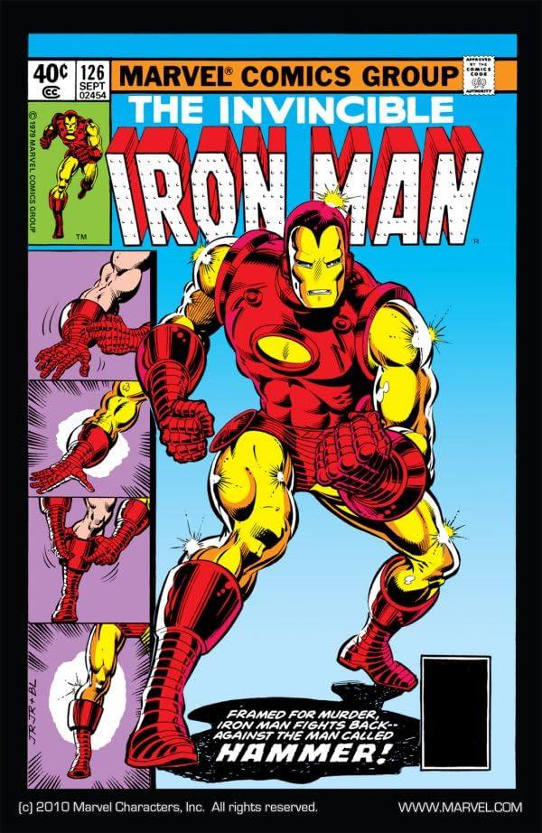 Iron Man (1968-1996) #126