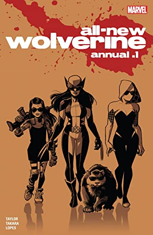 All-New Wolverine (2015-2018) Annual #1