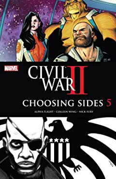 Civil War II: Choosing Sides (2016) No.5 (sur 6)