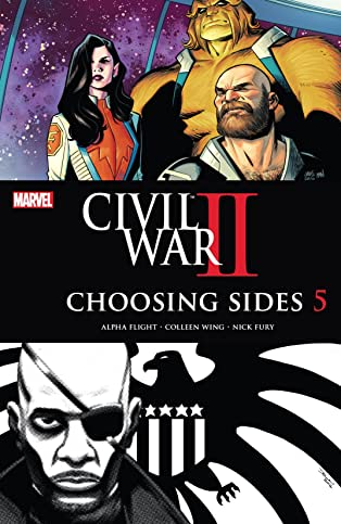 Civil War II: Choosing Sides (2016) #5 (of 6)