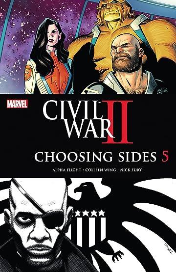 Civil War II: Choosing Sides (2016) #5 (of 6)