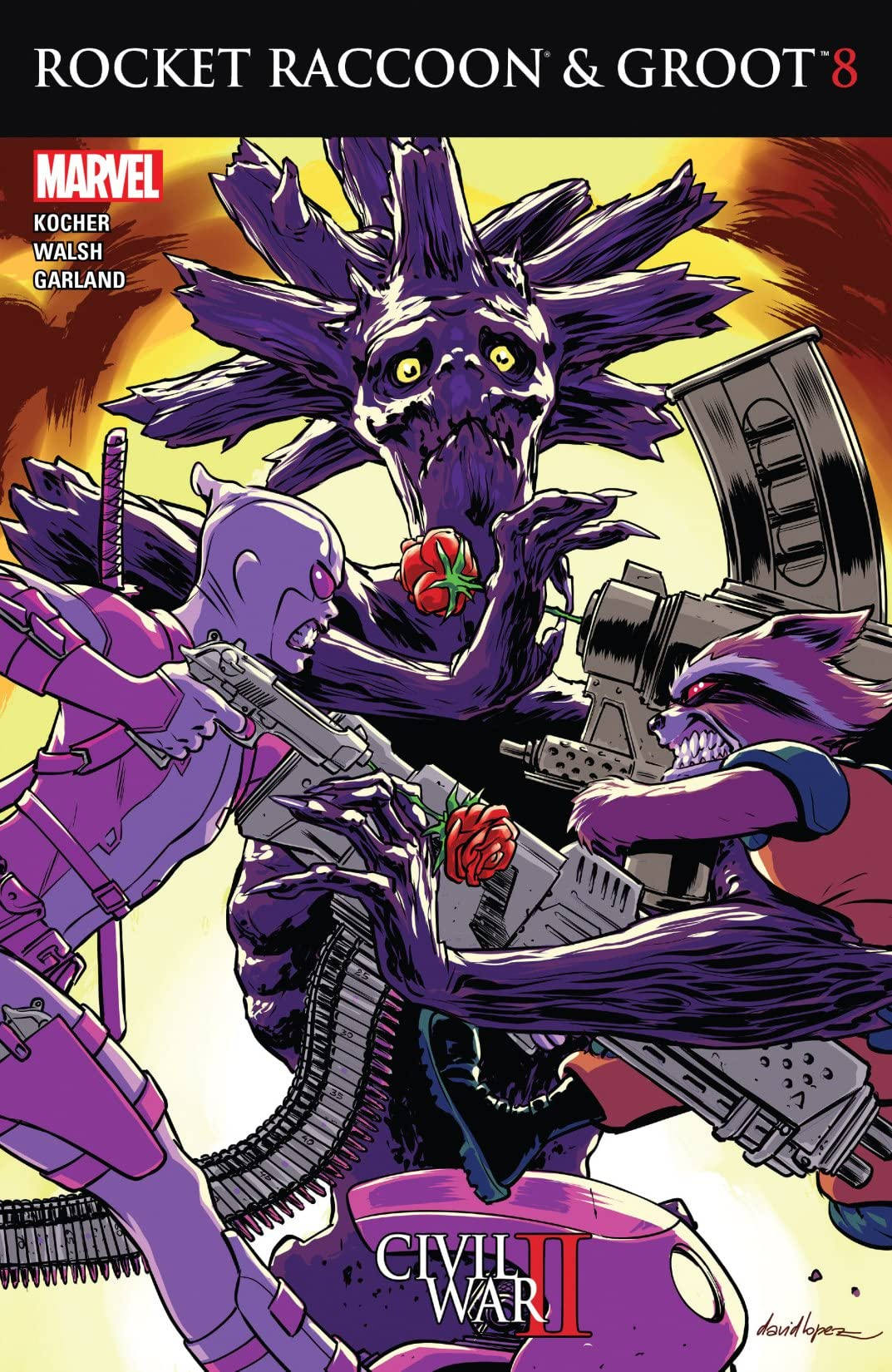 Rocket Raccoon and Groot (2016) #8