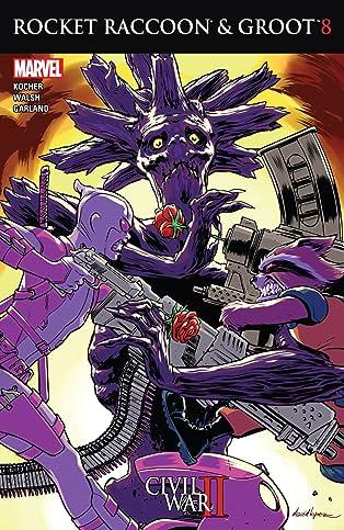 Rocket Raccoon and Groot (2016) #8