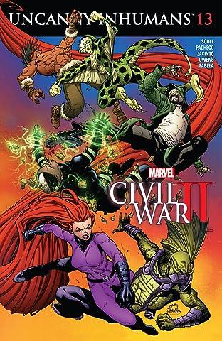 Uncanny Inhumans (2015-2017) #13
