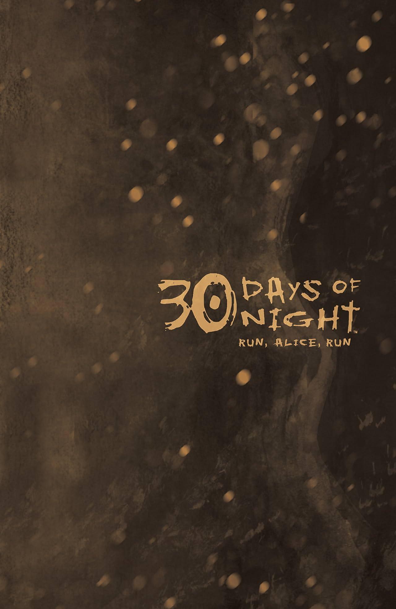 30 Days of Night: Ongoing Tome 3: Run, Alice, Run