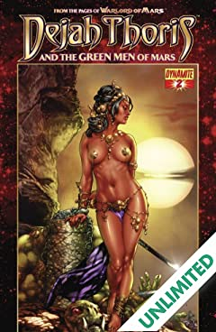 Dejah Thoris and the Green Men of Mars #2 (of 12)