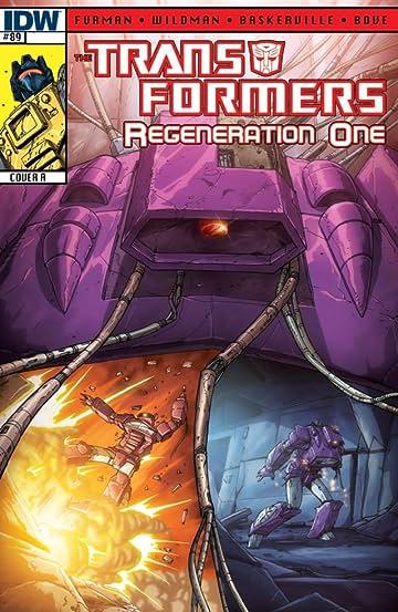 Transformers: Regeneration One #89