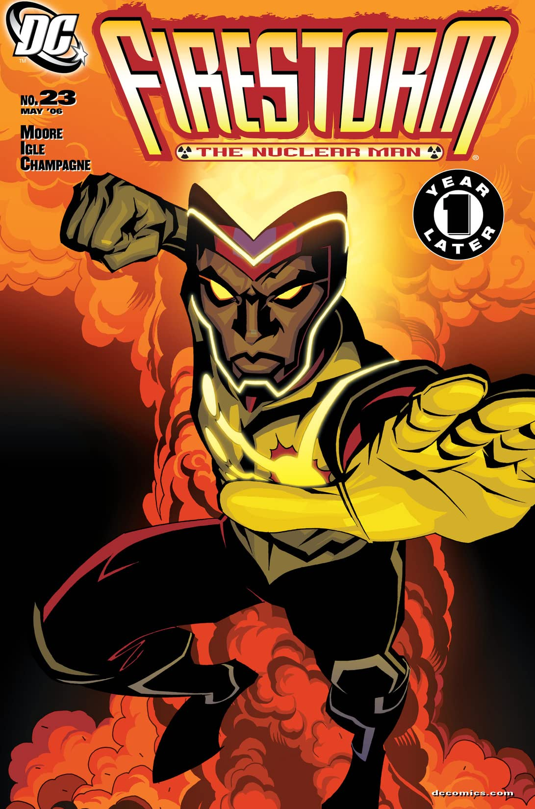Firestorm: The Nuclear Man (2004-2007) #23