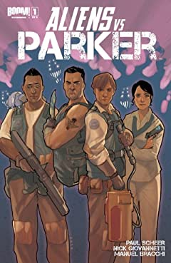Aliens vs. Parker #1 (of 4)