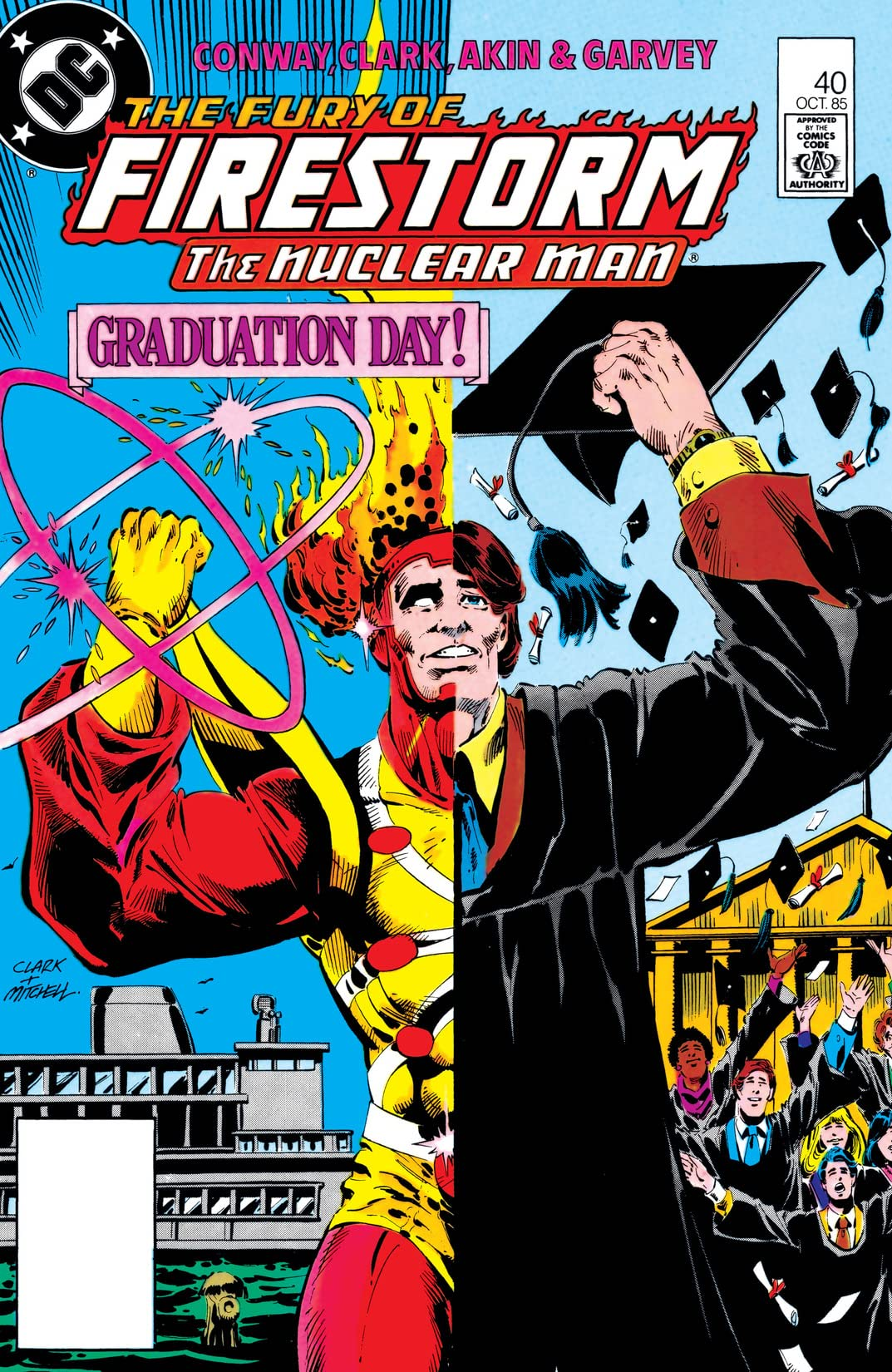The Fury of Firestorm (1982-1990) #40