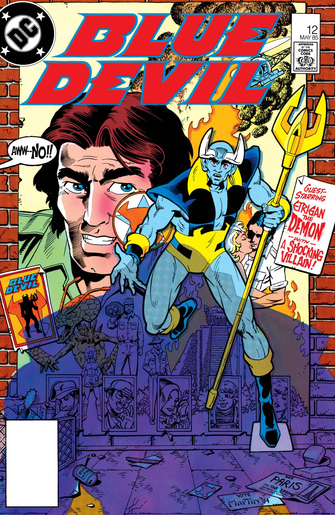 Blue Devil (1984-1986) #12