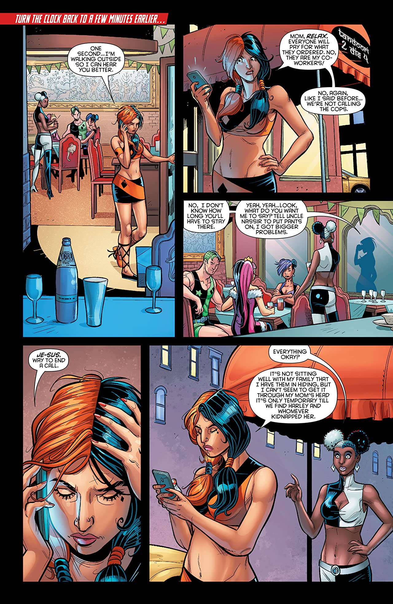 Harley Quinn and Her Gang of Harleys (2016) #3