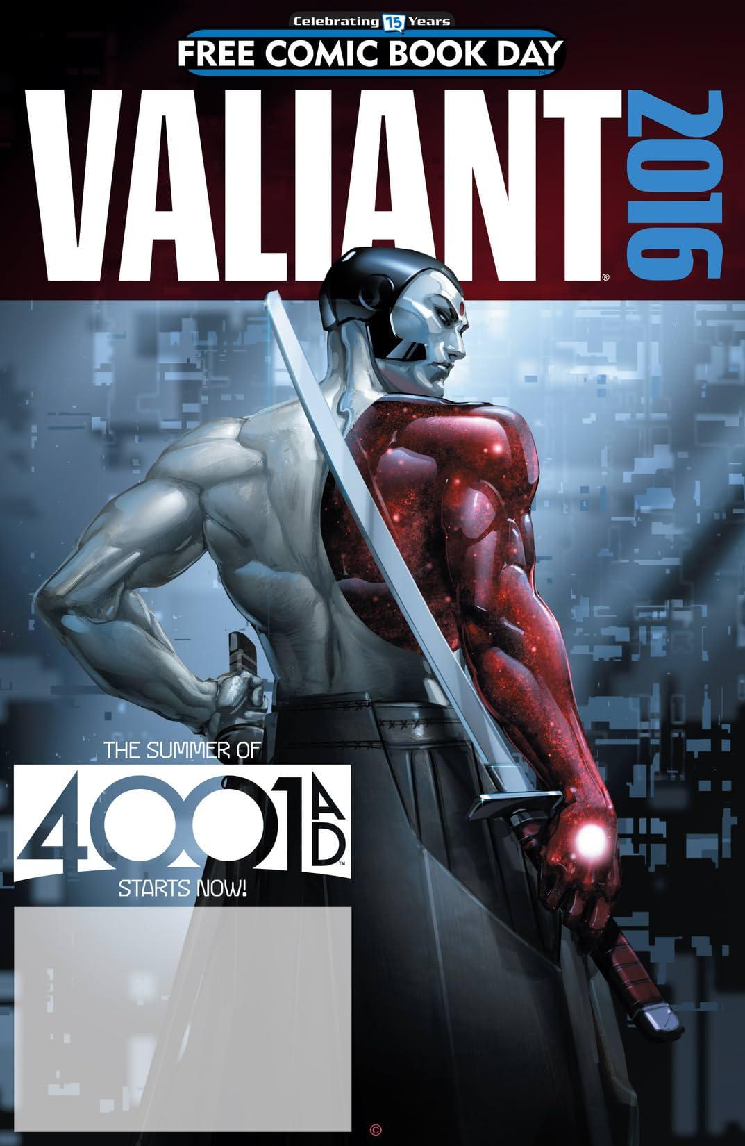 Valiant: 4001 A.D. FCBD Special