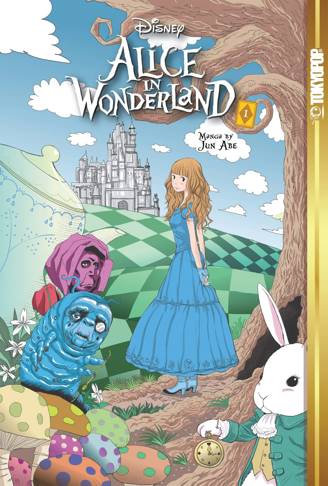 Disney Mange: Alice In Wonderland Vol. 1