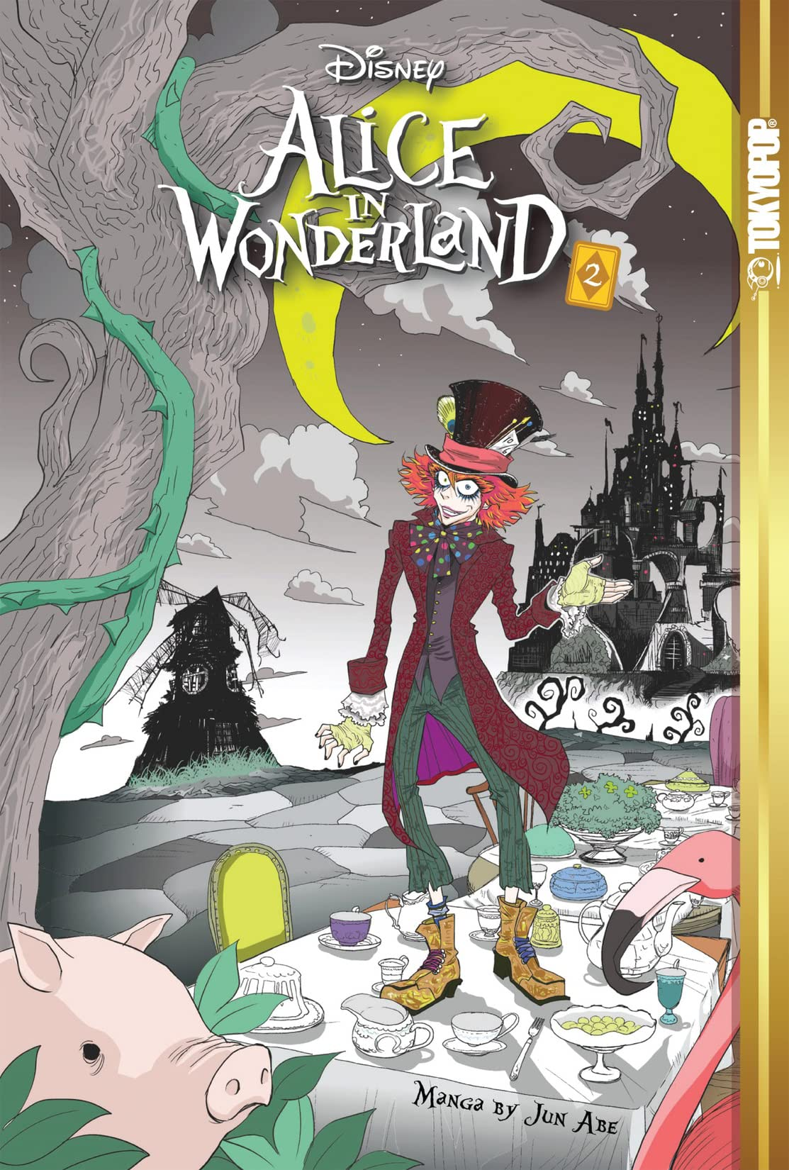 Disney Manga: Alice In Wonderland Vol. 2