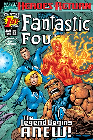 Fantastic Four (1998-2012) No.1