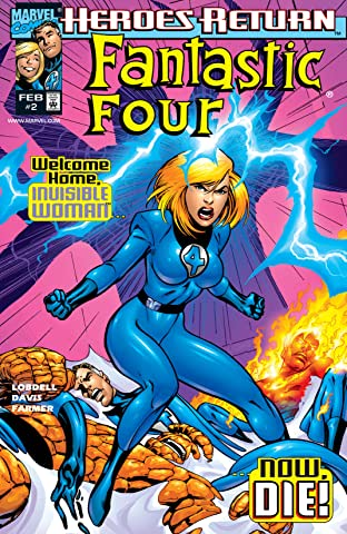 Fantastic Four (1998-2012) No.2