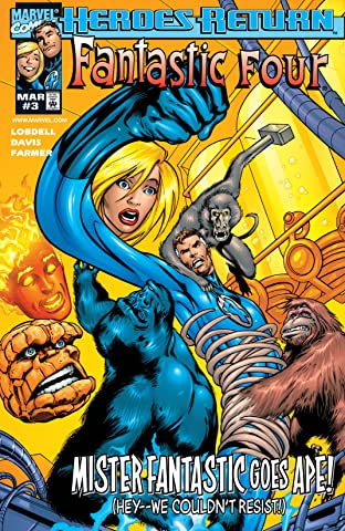 Fantastic Four (1998-2012) No.3