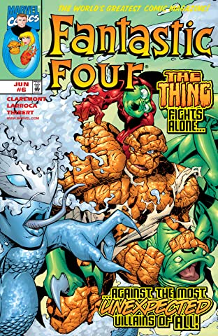 Fantastic Four (1998-2012) No.6