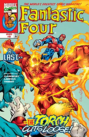 Fantastic Four (1998-2012) No.8