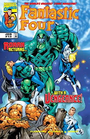 Fantastic Four (1998-2012) No.13