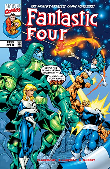 Fantastic Four (1998-2012) #14