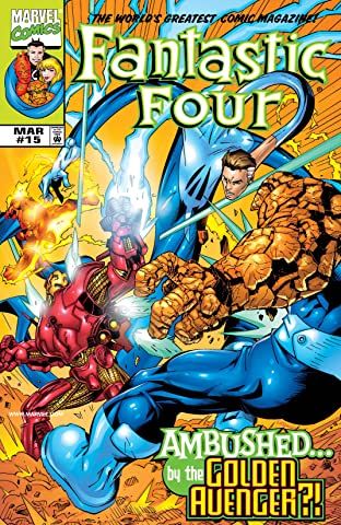 Fantastic Four (1998-2012) No.15
