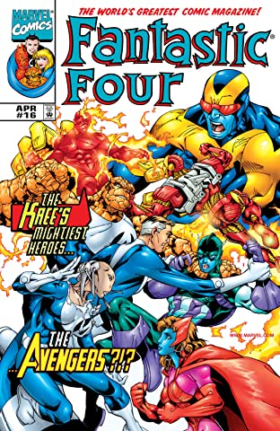 Fantastic Four (1998-2012) No.16