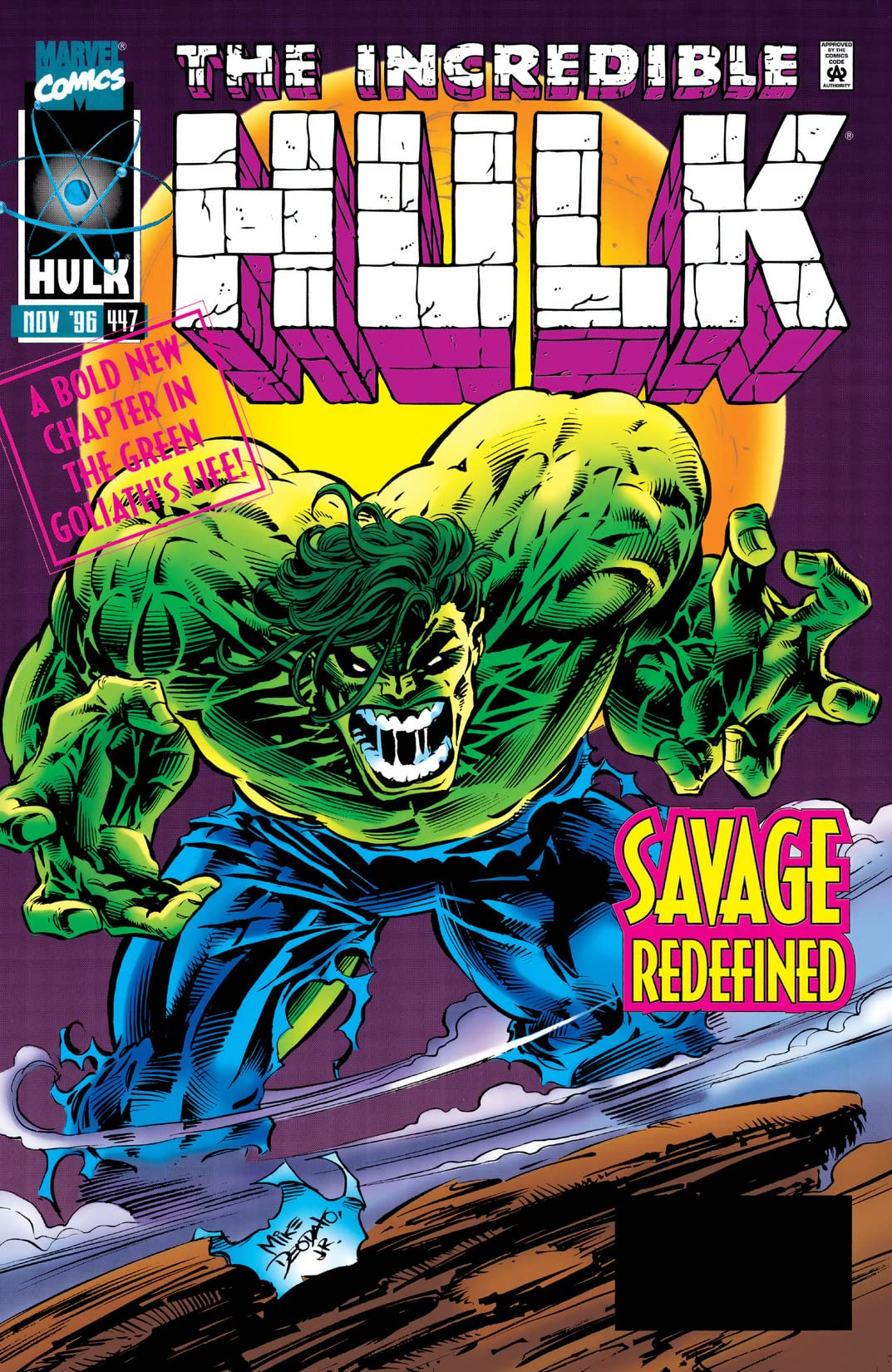 Incredible Hulk (1962-1999) #447