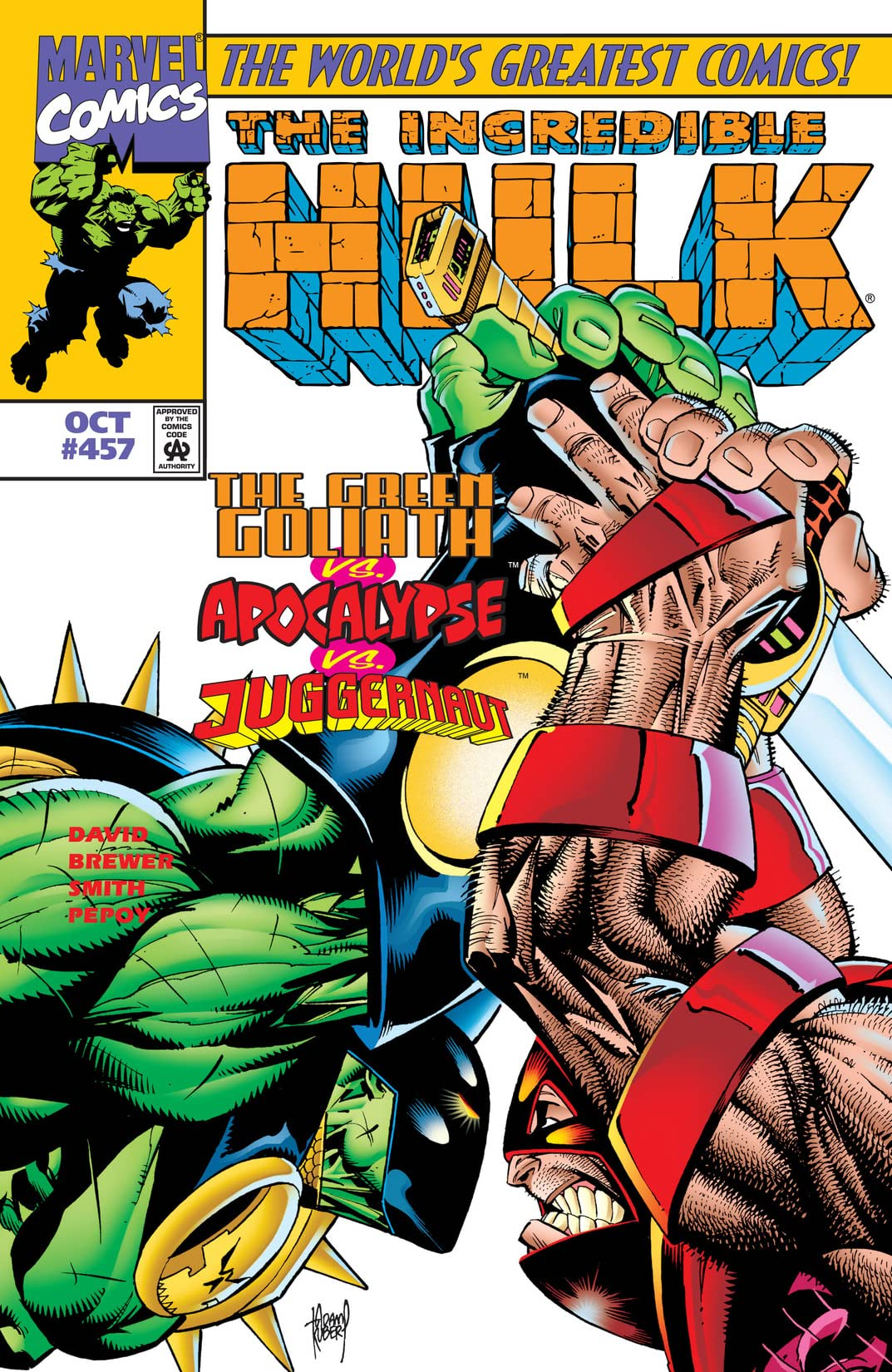 Incredible Hulk (1962-1999) #457