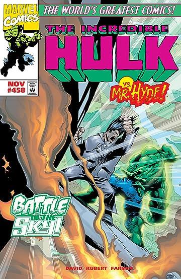 Incredible Hulk (1962-1999) #458