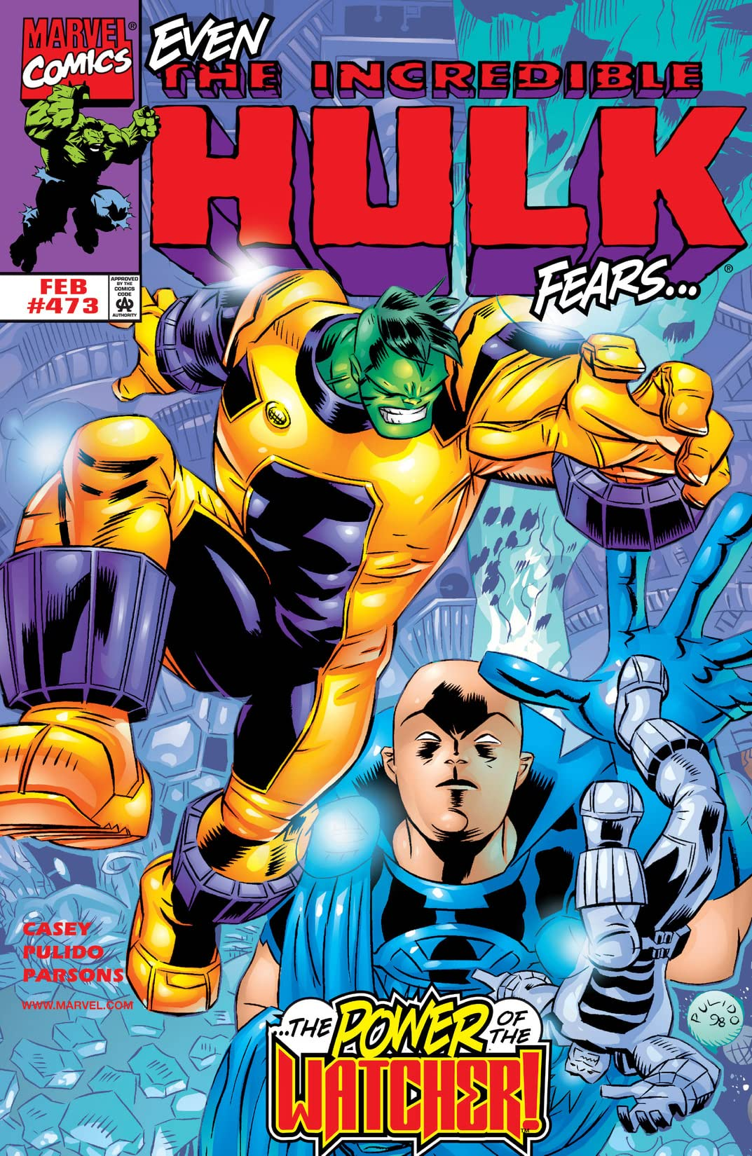 Incredible Hulk (1962-1999) #473