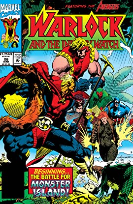 Warlock and the Infinity Watch (1992-1995) No.26