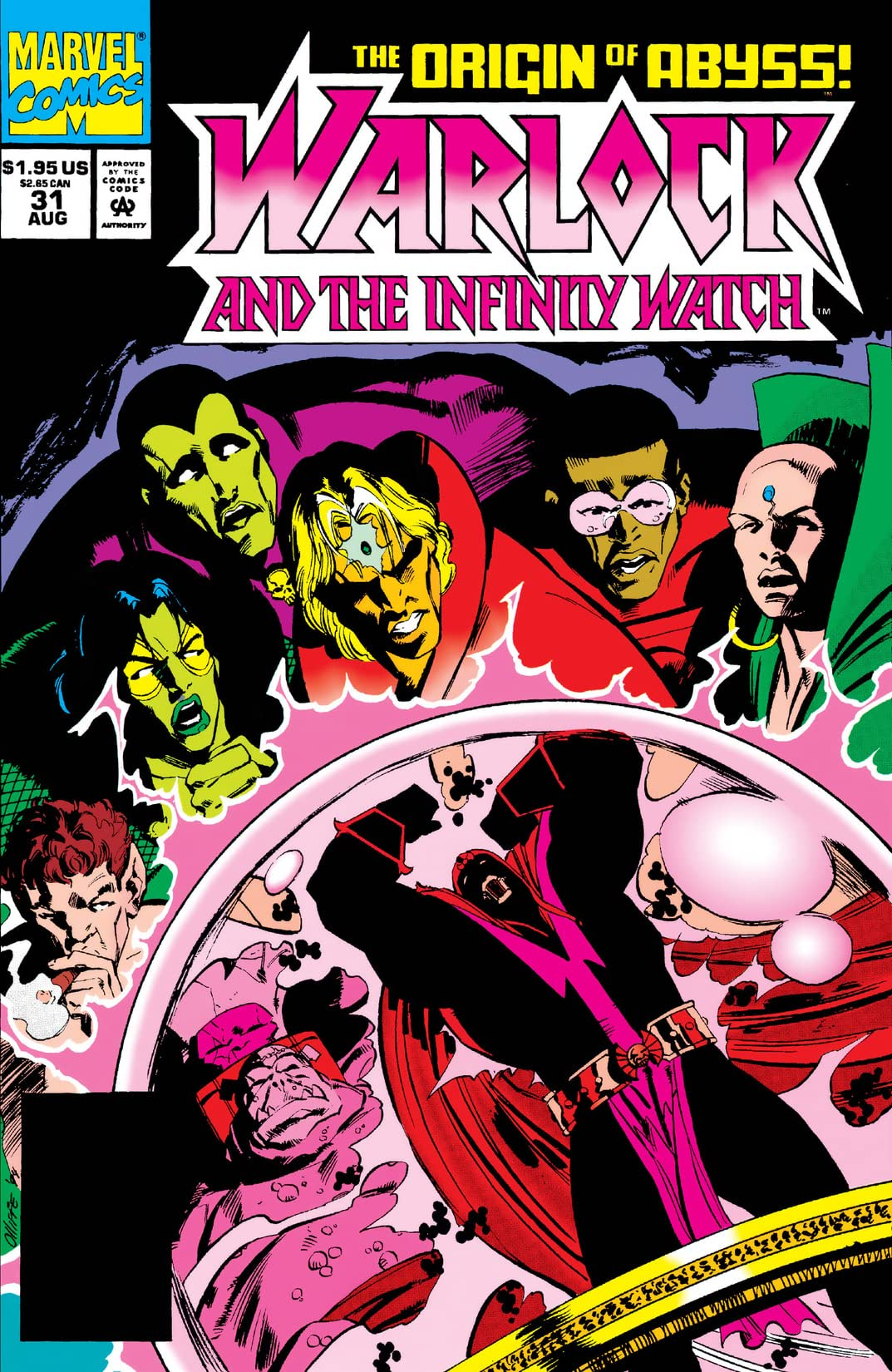 Warlock and the Infinity Watch (1992-1995) #31