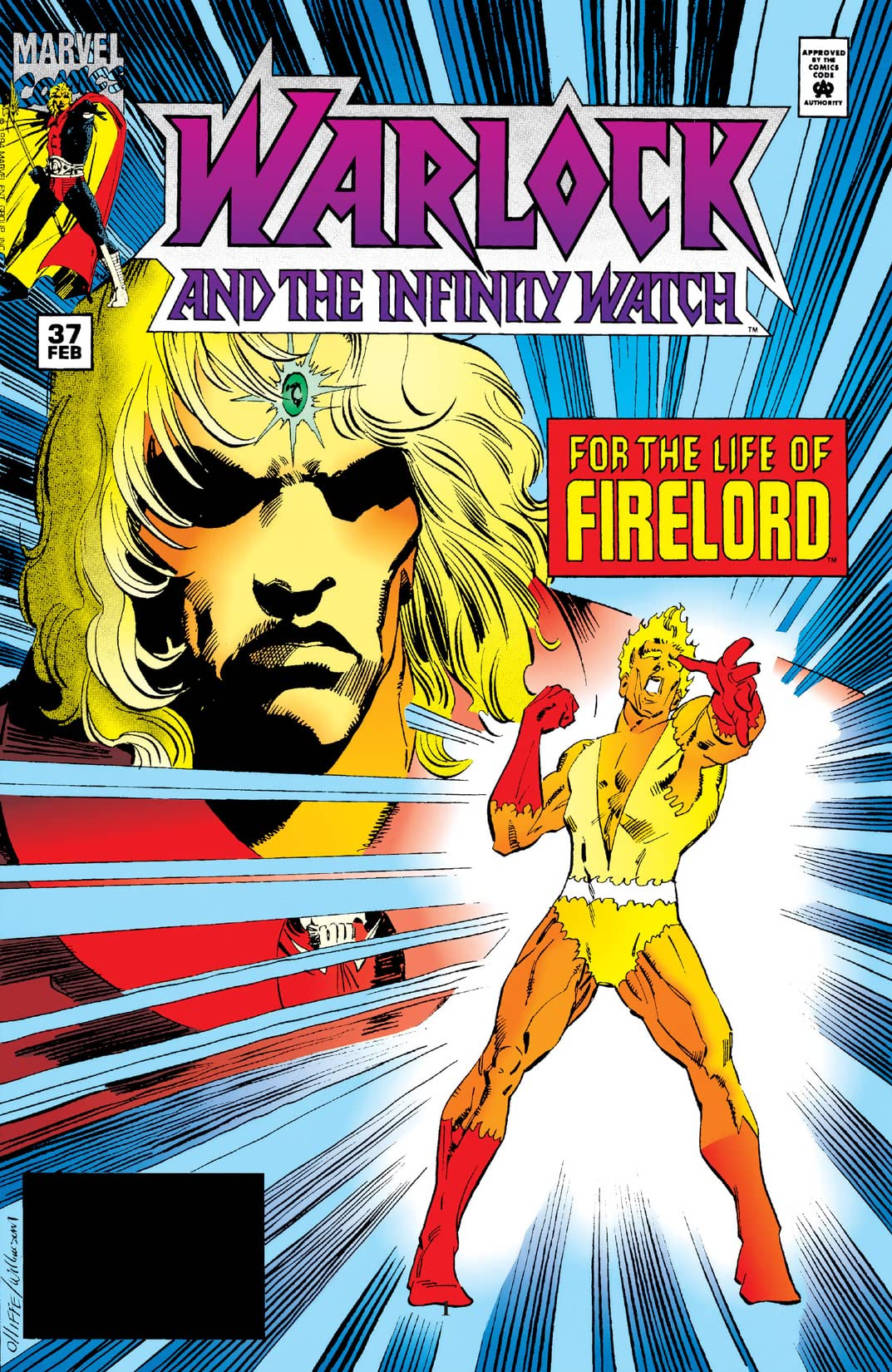 Warlock and the Infinity Watch (1992-1995) #37