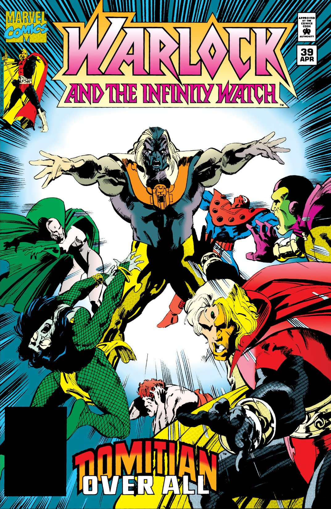 Warlock and the Infinity Watch (1992-1995) #39