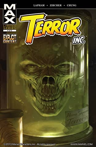 Terror, Inc. No.4 (sur 5)