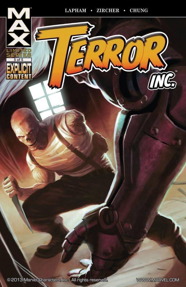 Terror, Inc. #5 (of 5)