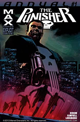 PunisherMax (2009-2012) Annual #1
