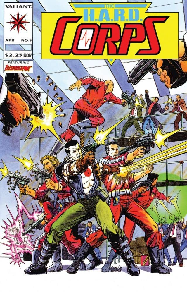 H.A.R.D. Corps (1992-1995) #5