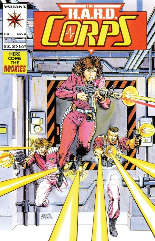 H.A.R.D. Corps (1992-1995) #8