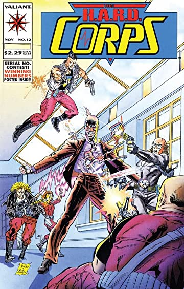 H.A.R.D. Corps (1992-1995) #12