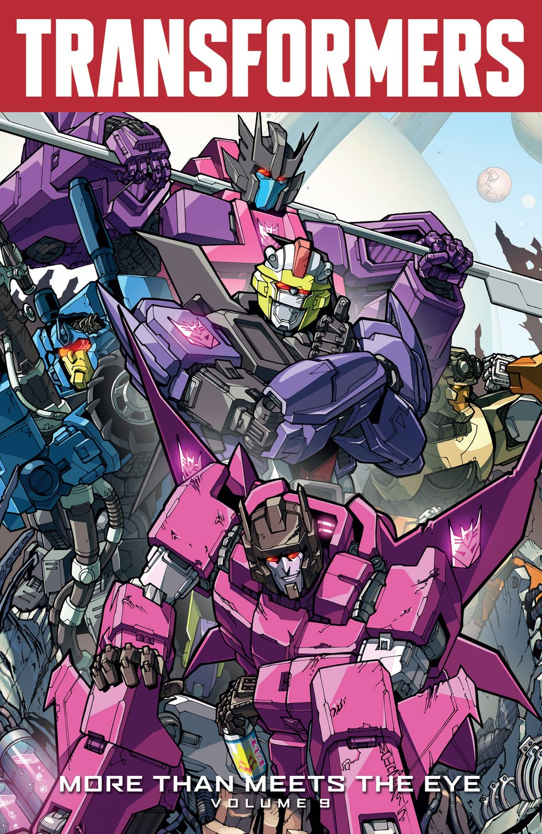 Transformers: More Than Meets the Eye (2011-2016) Vol. 9