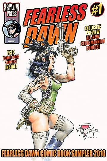 Fearless Dawn / Asylum Press Sampler: Free Comic Book 2016 #1